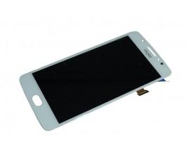 Pantalla completa lcd y táctil para Motorola Moto E4 blanca