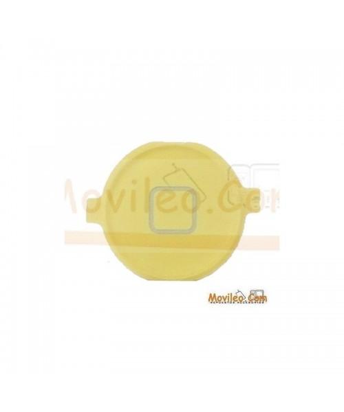 Botón de menú home amarillo para iPhone 3G 3GS 4G - Imagen 1