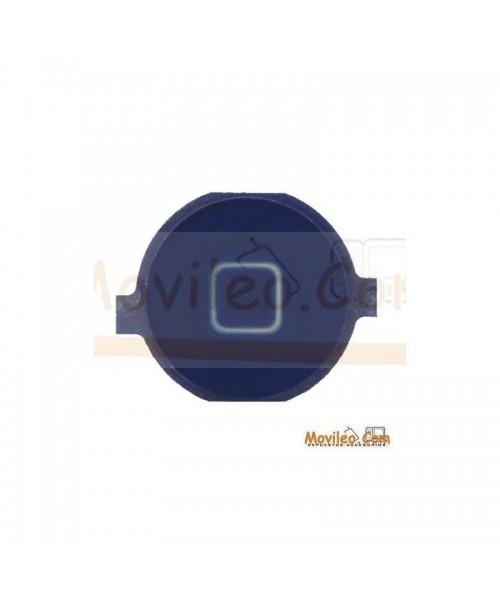 Botón de menú home azul oscuro para iPhone 3G 3GS 4G - Imagen 1