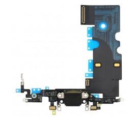 Flex conector carga y micrófono para iPhone 8 negro