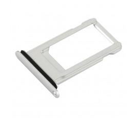 Porta tarjeta nano sim para iPhone 8 Plus plata