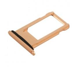 Porta tarjeta nano sim para iPhone 8 Plus oro