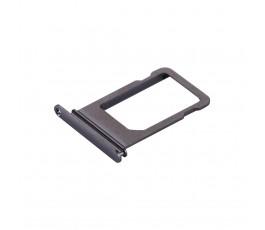 Porta tarjeta nano sim para iPhone X 10 negro