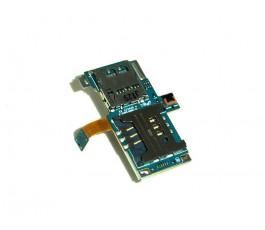 Flex lector sim y microSD para Samsung Galaxy S i9000 original