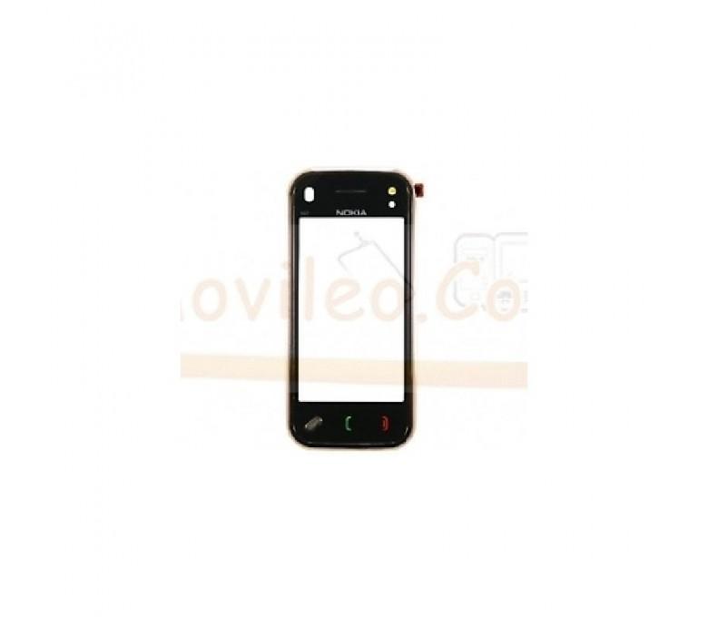 Pantalla Tactil Negro con Marco para Nokia N97 Mini - Imagen 1