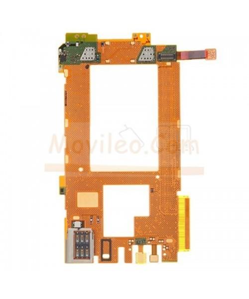 Flex placa con micrófono lector sim y sensor proximidad Lumia 920 - Imagen 1