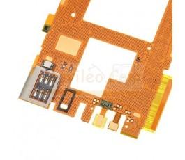 Flex placa con micrófono lector sim y sensor proximidad Lumia 920 - Imagen 3