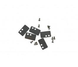 """Tornillos y placas sujeta lcd original Tablet Wolder MiTab California 10.1"""""""