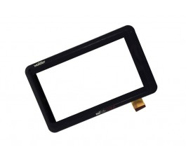 "Pantalla tactil con marco original Tablet Wolder MiTab GoCar 7"""