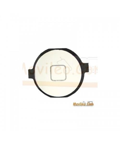 Botón de menú home color plata para iPhone 3G 3GS 4G - Imagen 1
