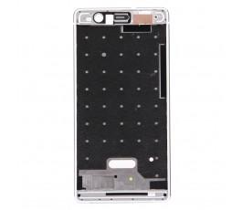 Marco pantalla para Huawei P9 blanco