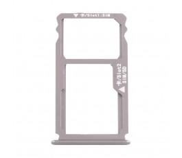 Porta tarjeta sim y microSD para Huawei G8 GX8 gris