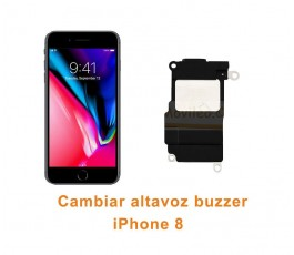 Cambiar altavoz buzzer iPhone 8