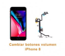 Cambiar botones volumen iPhone 8