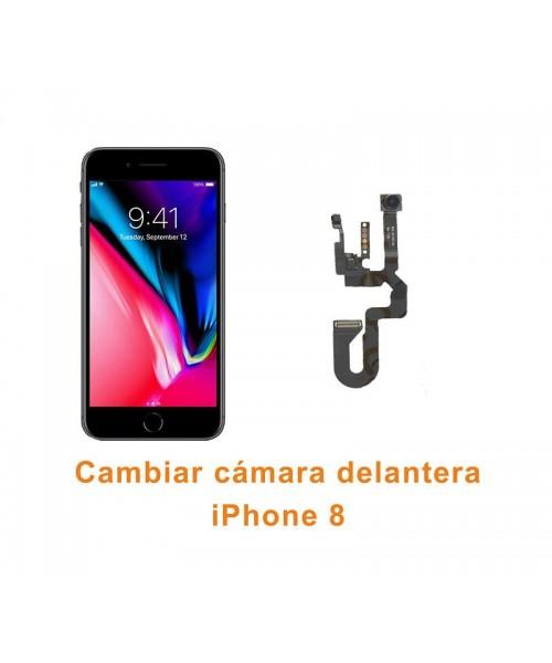Cambiar cámara delantera iPhone 8