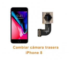 Cambiar cámara trasera iPhone 8