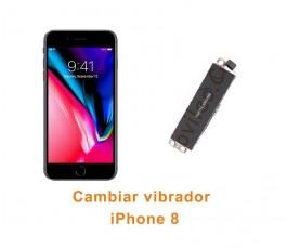 Cambiar vibrador iPhone 8