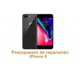 Presupuesto de reparación iPhone 8