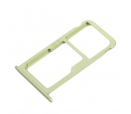 Porta tarjeta sim y microSD para Huawei P10 verde
