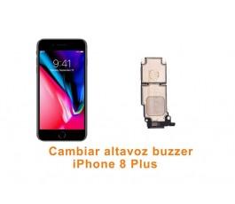 Cambiar altavoz buzzer iPhone 8 Plus