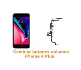 Cambiar botones volumen iPhone 8 Plus