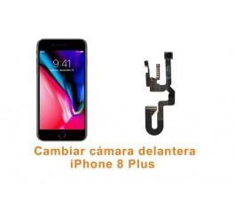 Cambiar cámara delantera iPhone 8 Plus