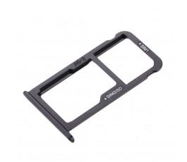Porta tarjeta sim y microSD para Huawei P10 negro