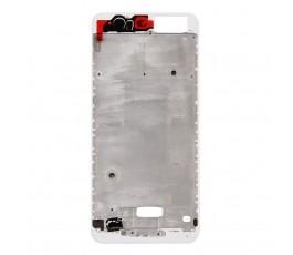 Marco pantalla para Huawei P10 blanco