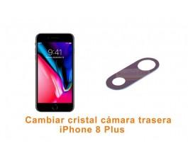 Cambiar cristal cámara trasera iPhone 8 Plus
