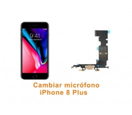 Cambiar micrófono iPhone 8 Plus
