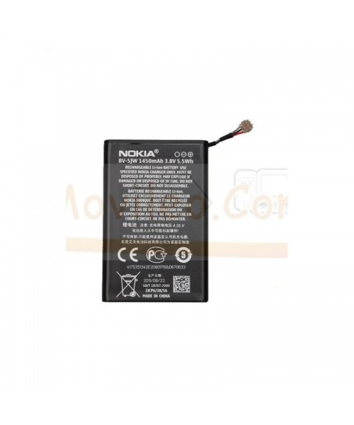 Bateria para Nokia Lumia 800 BV-5JW - Imagen 1