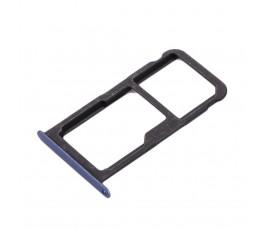 Porta tarjeta sim y micro SD para Huawei P10 Lite azul