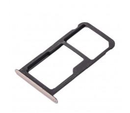 Porta tarjeta sim y micro SD para Huawei P10 Lite dorado