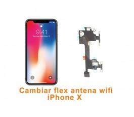 Cambiar antena wifi iPhone X 10