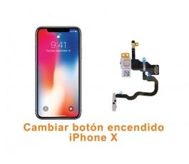 Cambiar botón encendido iPhone X 10