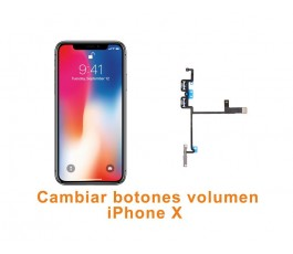 Cambiar botones volumen iPhone X 10