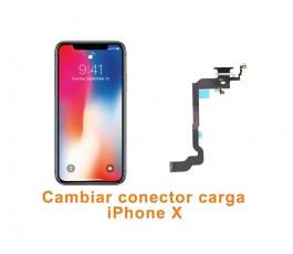 Cambiar conector carga iPhone X 10