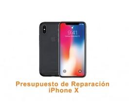 Presupuesto de reparación iPhone X 10