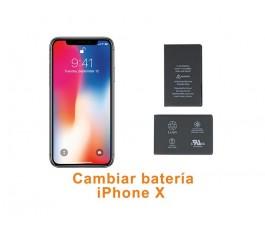 Cambiar batería iPhone X 10
