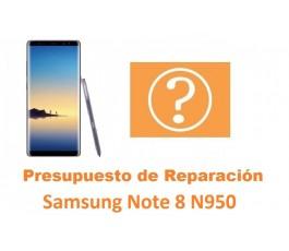 Presupuesto de reparación Samsung Galaxy Note 8 N950