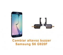 Cambiar altavoz buzzer Samsung Galaxy S6 G920F