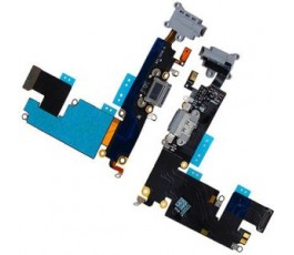 Flex conector carga y micrófono para iPhone 6S Plus gris