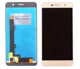 Pantalla completa táctil y lcd para Huawei Y6 Pro dorado