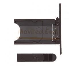 Porta sim y tapa micro usb para Nokia Lumia 800 Negro - Imagen 2