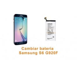 Cambiar batería Samsung Galaxy S6 G920F