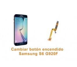 Cambiar botón encendido Samsung Galaxy S6 G920F