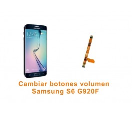Cambiar botones volumen Samsung Galaxy S6 G920F
