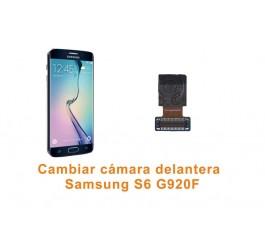 Cambiar cámara delantera Samsung Galaxy S6 G920F