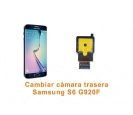 Cambiar cámara trasera Samsung Galaxy S6 G920F