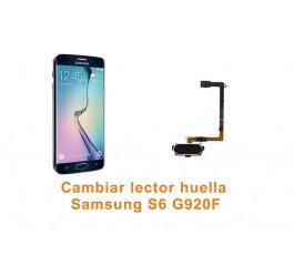 Cambiar lector huella Samsung Galaxy S6 G920F